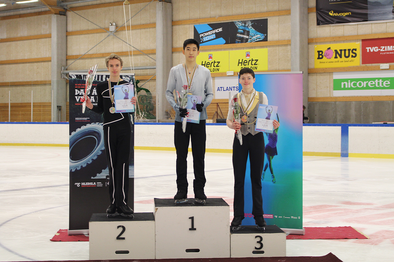 Junior men - Podium