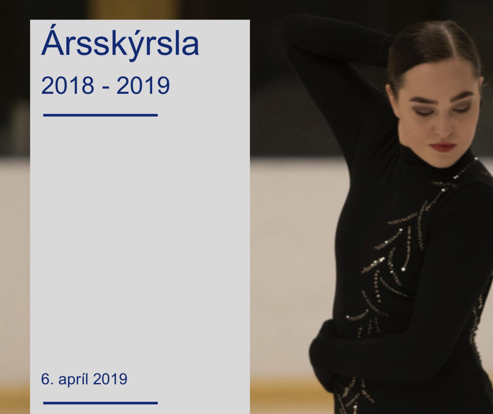 Ársskýrsla ÍSS 2018 – 2019