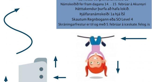 Þjálfaranámskeið 1a á Akureyri